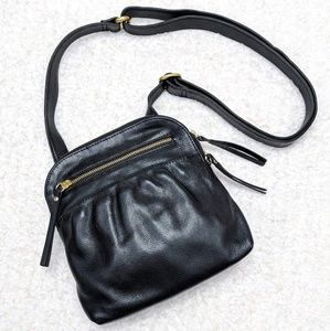 Osgoode Marley RFID Bag Leather Crossbody Black